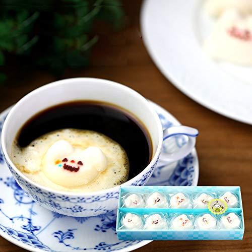 ハロウィン お菓子 Latte ラテ マシュマロ ラテマル 10個 箱入り 5箱セット