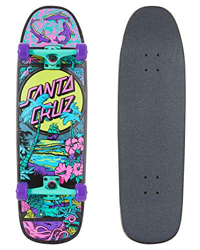 Independent Trucks Santa Cruz Skateboard 60mm OG Slime Wheels Package ABEC 5
