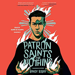 Patron Saints of Nothing audiobook cover art
