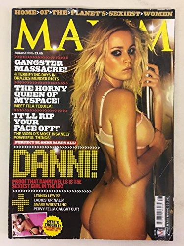 MAXIM MAGAZINE - August 2006 Mbox2282 Tila Tequila