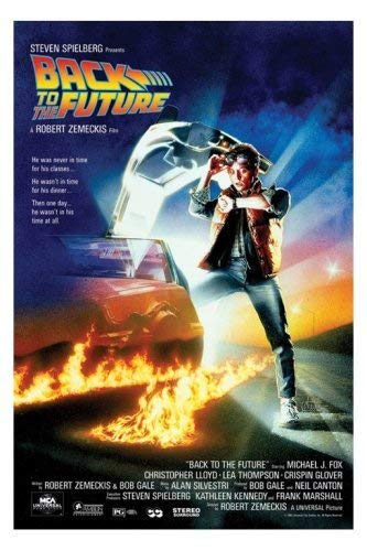 Tainsi Michael J. Fox – Back to The Future Poster-11 x 17 pollici, 28 x 43 cm