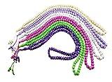 Lot 6 Tasbih Prayer 99 Worry Beads Handmade Misbaha Muslim Rosary Islamic Zikr