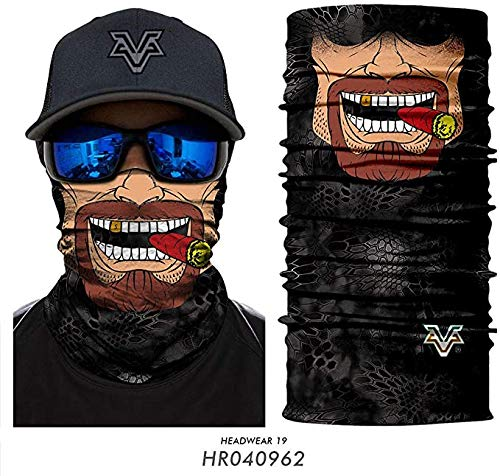 Sport Naadloze Mask hoofdband Bandana Sjaal Fietsen Ski Headwear Neck Gaiter winddicht Vissen Bandanas,D