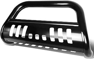 For Chevy Silverado/GMC Sierra GMT800 3 inches Bumper Push Bull Bar+Removable Skid Plate (Black)