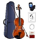 Aileen Violon 4/4 Enfant, Débutant Violin Set avec Manuel d'Utilisation