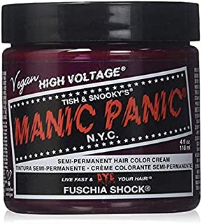 Manic Panic Fuchsia Shock Dark Pink Hair Dye Color