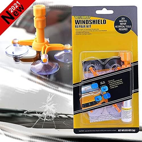 BESWORLDS 2021 New Car Windshield Repair Kit, Windshield Crack Repair Kit for Fix Auto Windshield...