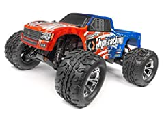 HPI 120080 - Jumpshot MT V2 1/10 2WD Monster Truck RTR Features:  Factory-built Ready To Run 2WD Monster Truck  NEW! 12-turn 550-size motor for maximum power  NEW! Optimized gearing for great acceleration and top speed  NEW! Metal idler gear in the t...