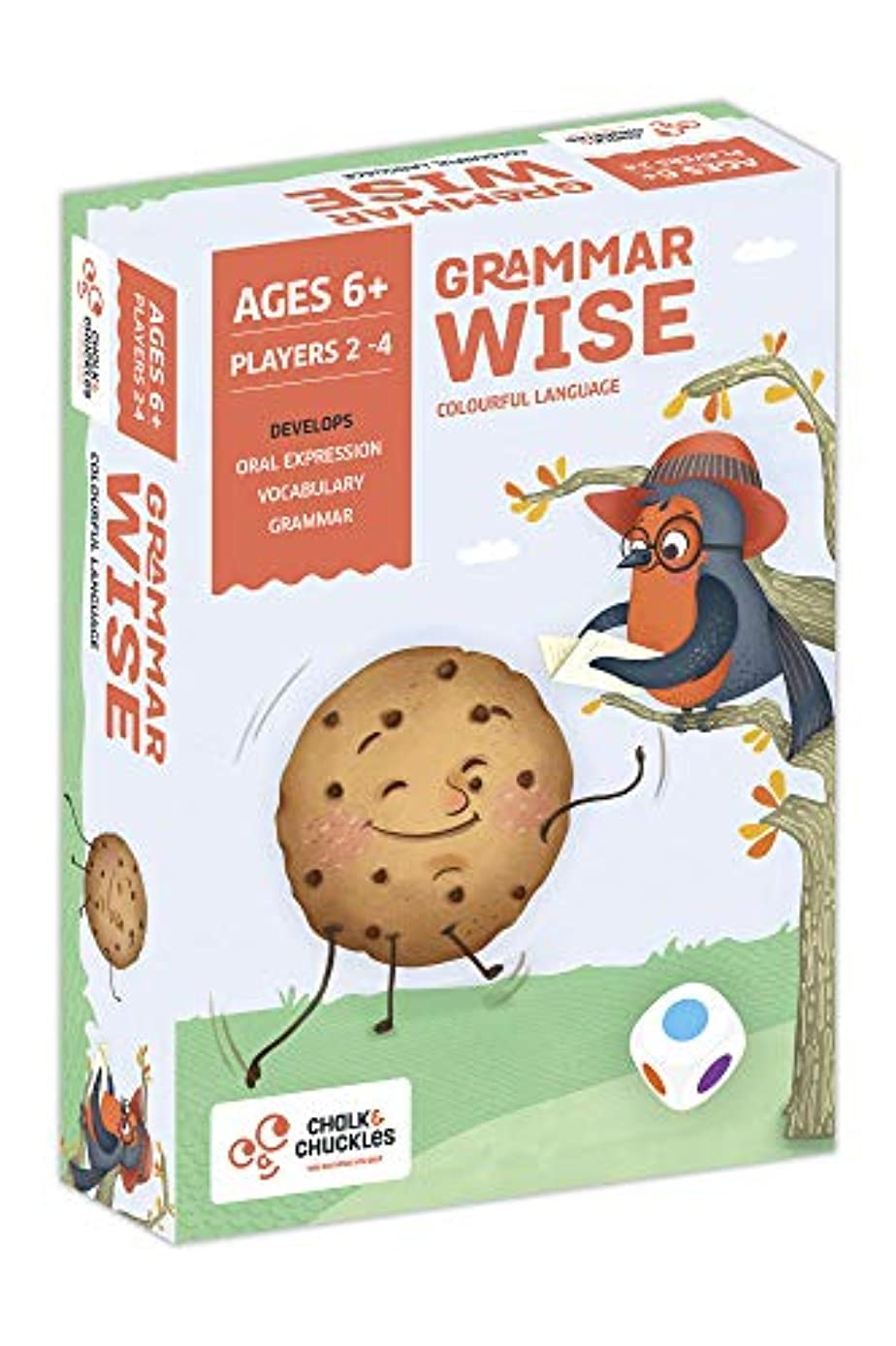Chalk and Chuckles Grammar Wise Colourful Language Game