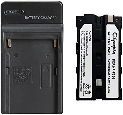 Replacement Battery Charger Set for Sony DCR TRV310 Digital Camera 2600mAh 7 2V Li Ion product image