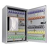 BARSKA CB13562 Combination Lock 300 Position Adjustable Key Cabinet Lock Box Grey, Multi, One Size