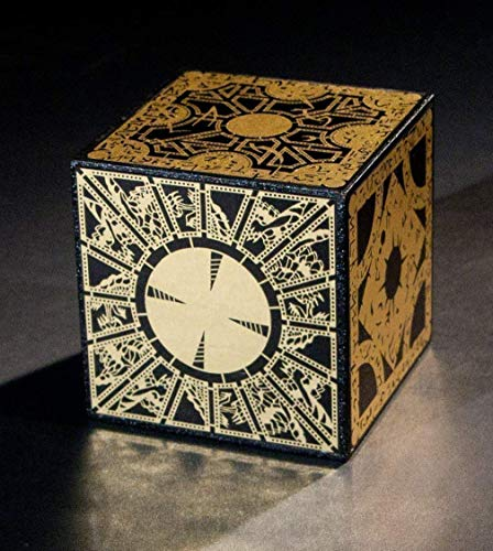 Hellraiser Puzzle Box - Solid Wood, Foil Face - Lament Configuration