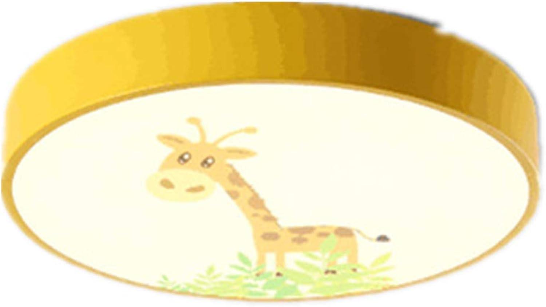 Deckenleuchte Führte Modernes Unbedeutendes Schlafzimmer Nordische Kindkarikatur Rundes Macarons Weies Licht 30  6cm