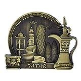 Yaoqshu Imanes Nevera Qatar Turismo Souvenir Frigorífico Imán Magnet Craft...