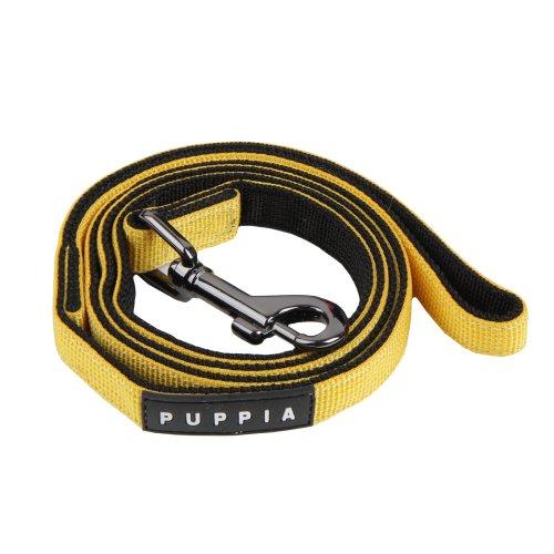 Puppia Laisse pour Chien Jaune Taille S 116 cm 10 mm