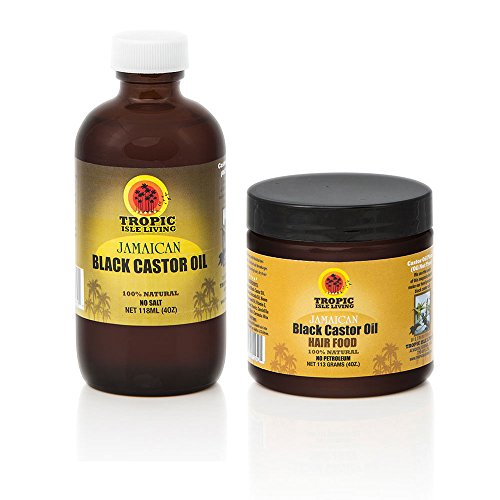 Tropic Isle Living Jamaican Black Castor Oil Hair Food +...