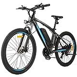 Speedrid Elektrofahrrad E Bike 20/26 Zoll Elektrisches Fahrrad mit 36V 8Ah/12.5Ah Lithium-Batterie, 250W Stabile bürstenlosem Motor und Professionelles Getriebe (ANEB007-e MTB Blau, 27.5Zoll)