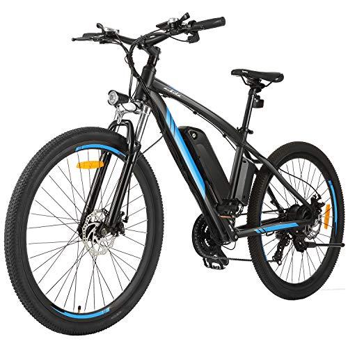 "Speedrid Elektrofahrrad 27,5""eBike mit 36V 10Ah Lithium Batterie, Shimano 21-Gang Mountainbike für Erwachsene"