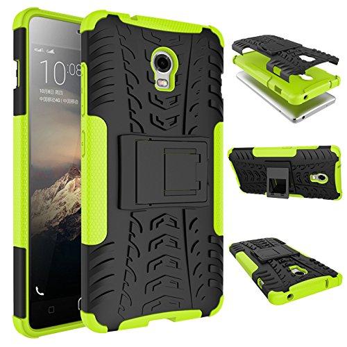 SsHhUu Lenovo Vibe P1 Hülle, Premium Rugged Stoßdämpfung und Staubabweisend Kompletter Schutz Hybrid-Koffer mit Ständer Telefon Kasten für Lenovo Vibe P1 (5.5