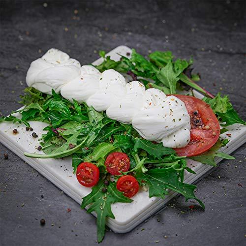 Fresh Italian Cheese Mozzarella Treccia - 6 pcs x 8 ounces (1 case x 3 pounds)