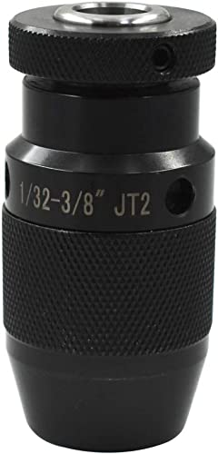 "lowest New 1/32-3/8"" Pro-Series sale 2JT outlet online sale Keyless Drill Chuck Heavy Duty CNC JT2 sale"