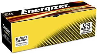 Energizer Products - Industrial Alkaline Battery, quot;Dquot; Size, 12/BX - Sold as 1 BX - Energizer Industrial Alkaline D Battery offers an economical, high rate source of portable power for todays devices that require heavy current or continuous use. Each battery provides four to nine times more energy than similar-sized carbon zinc batteries.