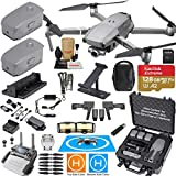DJI Mavic 2 Zoom Drone Quadcopter and Fly More Kit Combo Hard Case Bundle Comes with 3 Batteries, Professional Zoom Camera Gimbal, Hard Rugged Carrying Case and Must Have Accessories