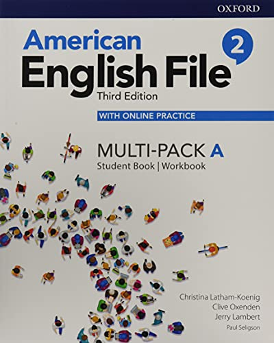 American English File: Level 2: Student Book/Workbook Multi-Pack A with Online Practice