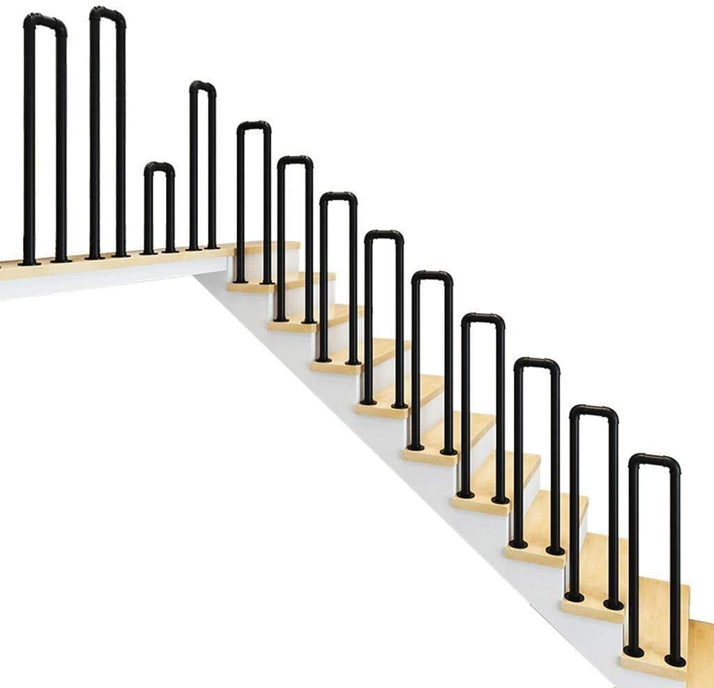 Handrail Limited price Ranking TOP14 sale Non-Slip U-Shaped Wrought Iron In Pipe Railings Stair