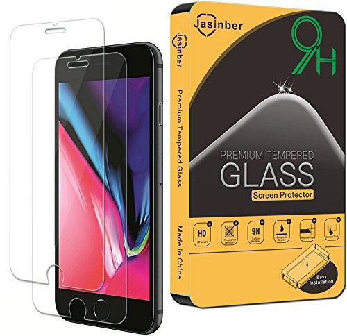 pantalla cristal templado iphone 8 de la marca Jasinber