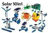 MEDUP 10in1 Solarpaket 10 Solarmodelle Solar Bausätze Green line mit