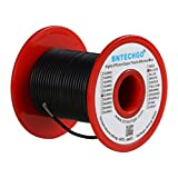 BNTECHGO 22 Gauge Silicone wire spool 50 ft Black Flexible 22 AWG Stranded Tinned Copper Wire