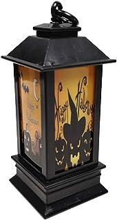 HINK Veilleuse Halloween Atmosphères Accessoires Décoratifs en Plastique Veilleuse Lumineuse Maison & Jardin LED Lumière