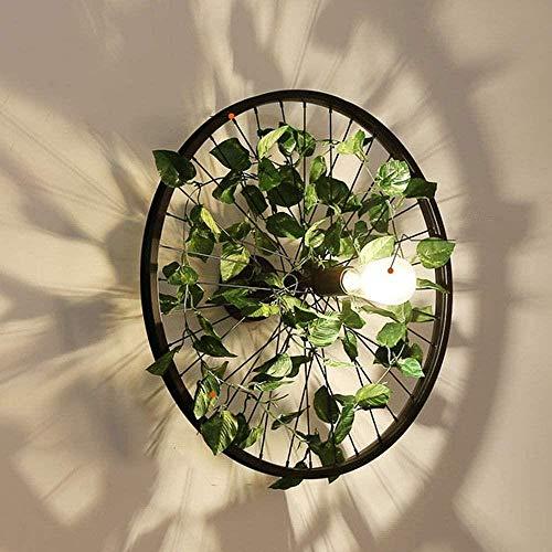 Creatieve persoonlijkheid Bescherming ogen Groen Vermoeidheid Design Home Decor Wandlamp Bedside Salon Gang Gang Crossing Lamp