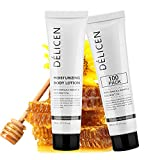 OPPEAL Delicen Travel Size Daily Healing Body Lotion with Manuka Honey & Coconut Oil in Bulk, 1.05 oz, Clementine Scent (100 Pack)