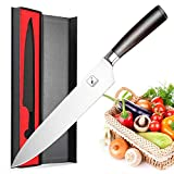 Chef's Knife,Imarku Kitchen Knife,10-Inch High Carbon German Steel Cook's Knife with Ergonomic...