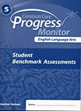 English Language Arts, Common Core Progress Monitor (5th Grade, Student Benchmark Assessments)