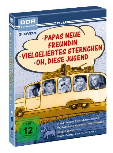 Papas neue Freundin / Vielgeliebtes Sternchen / Oh, diese Jugend - DDR TV-Archiv [3 DVDs]