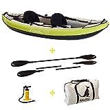 Kangui Canoë Kayak Gonflable Maui 1 à 2 Places + pagaie + Sac Transport +...