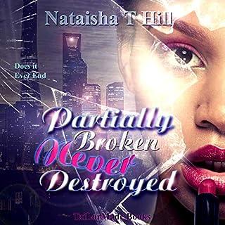 Partially Broken Never Destroyed audiobook cover art
