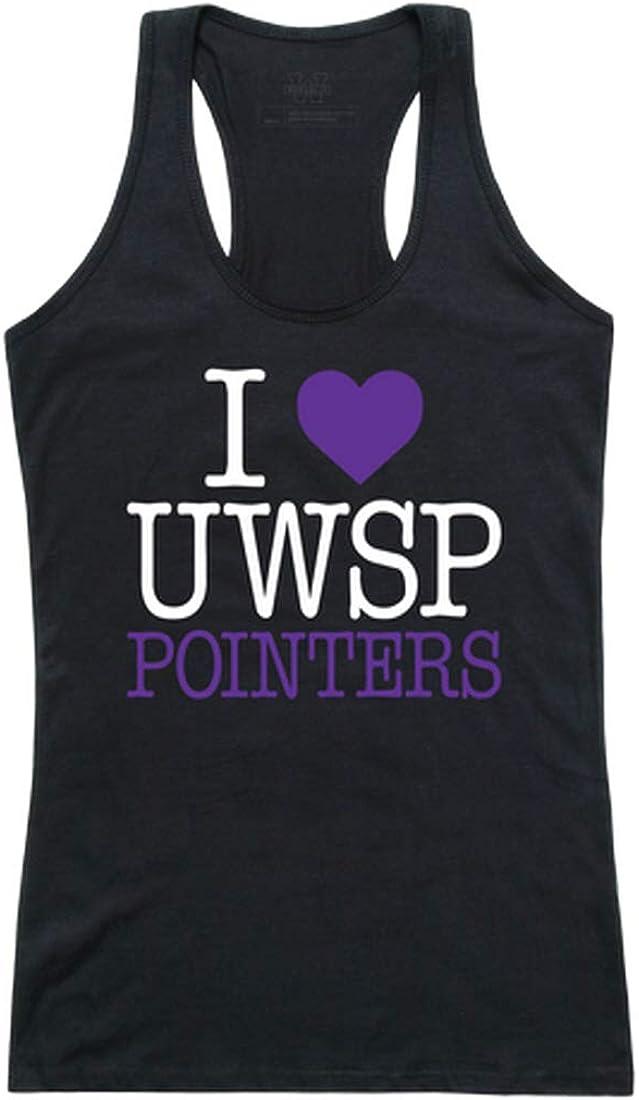 UWSP Wisconsin-Stevens Point Pointers NCAA lowest price I Tank Department store Women's T Love