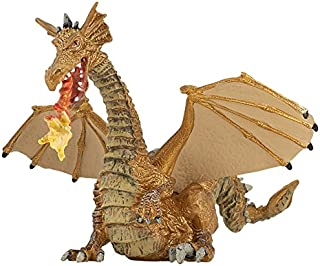 PAPO-FRANCE. FIGURINES PLASTIQUES Ty Inc.Toys 37173TY - Beanie Boo'S Darla Regular Dragon Rosa (15 Cm)