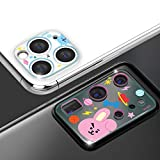 BT21 Camera Lens Protector Compatible with iPhone 12 Pro Max 6.7-inch, HD Clear Tempered Glass Back Camera Protector, Case Friendly, Ultra-Thin, Easy Installation (iPhone 12 Pro Max, MANG)