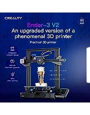 طابعة ثلاثية الابعاد من فيستنيت اندر-3 V2 3D بهيكل معدني بالكامل، لوحة رئيسية ثابتة بواجهة مستخدم جديدة، شاشة دعم لاستئناف الطباعة، طابعة بحجم 220* 220* 250 ملم