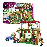 BLOCKI KB0120 My Girls Pizzaria - Juego de bloques de construcción para niños a partir de 6 años, compatible con Lego