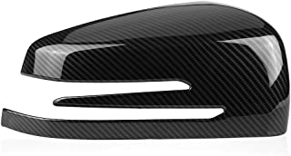C e S GL Clase W204 W212 W221 Cla Gla 2009-2013 Negro Brillante Noblik 1 Par de Cubiertas de Espejo de Puerta Tapas de Espejo Lateral para Mercedes