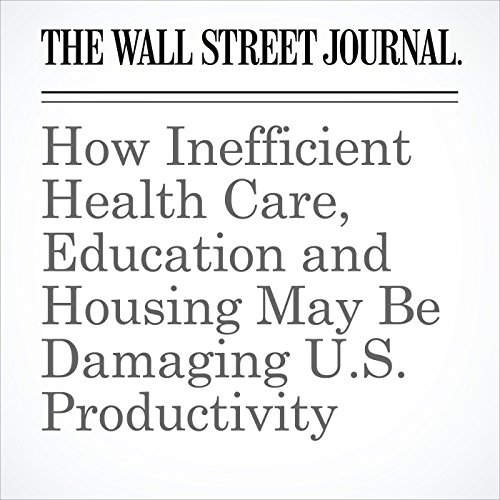 How Inefficient Health Care, Education and Housing May Be Damaging U.S. Productivity audiobook cover art