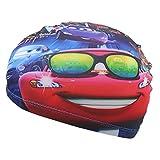 OGOBVCK Gorro de Natacion Childrens Tela Gorra de natación Impermeable Cartoon Multi-Color del Gorro de baño Chico o Chica (Car)