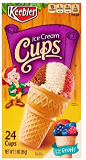 Keebler Ice Cream Cones (Pack of 2)