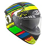 KYT Green/Blue-L, Casco NF-R Energy Uomo